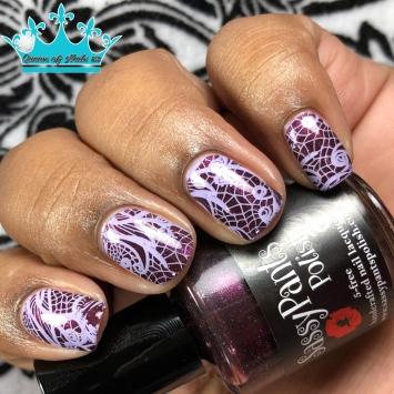 "Sassy Pants Polish - ""Stewards of the Earth"" - w/ nail art"